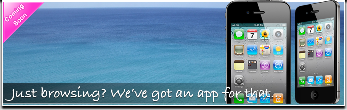 Just browsing? We've got an app for that...
